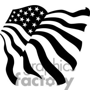 American Flag SVG USA Fourth of July Waving Flag Decal | Etsy