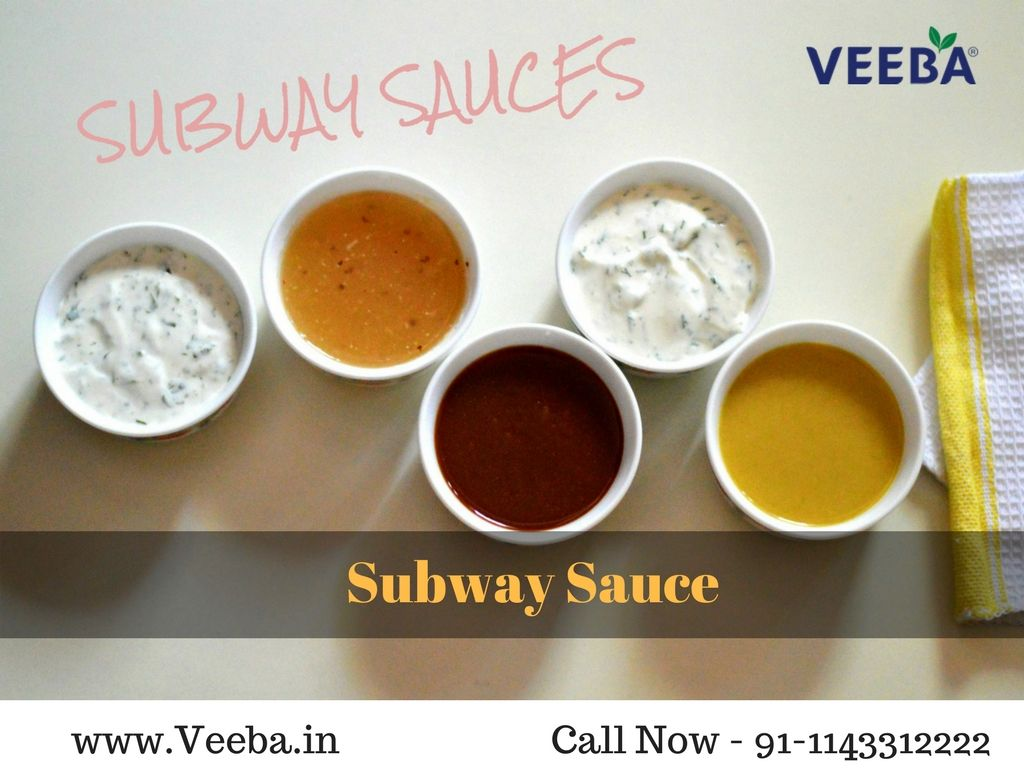 Veeba Food Services Subway Sauces Subway Honey Mustard Recipe Homemade Sauce