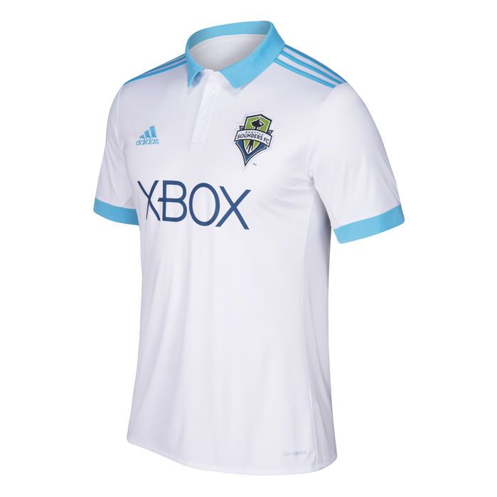 50aa5e8a096 Seattle Sounders FC Away Jersey White 2XL Mens Soccer World
