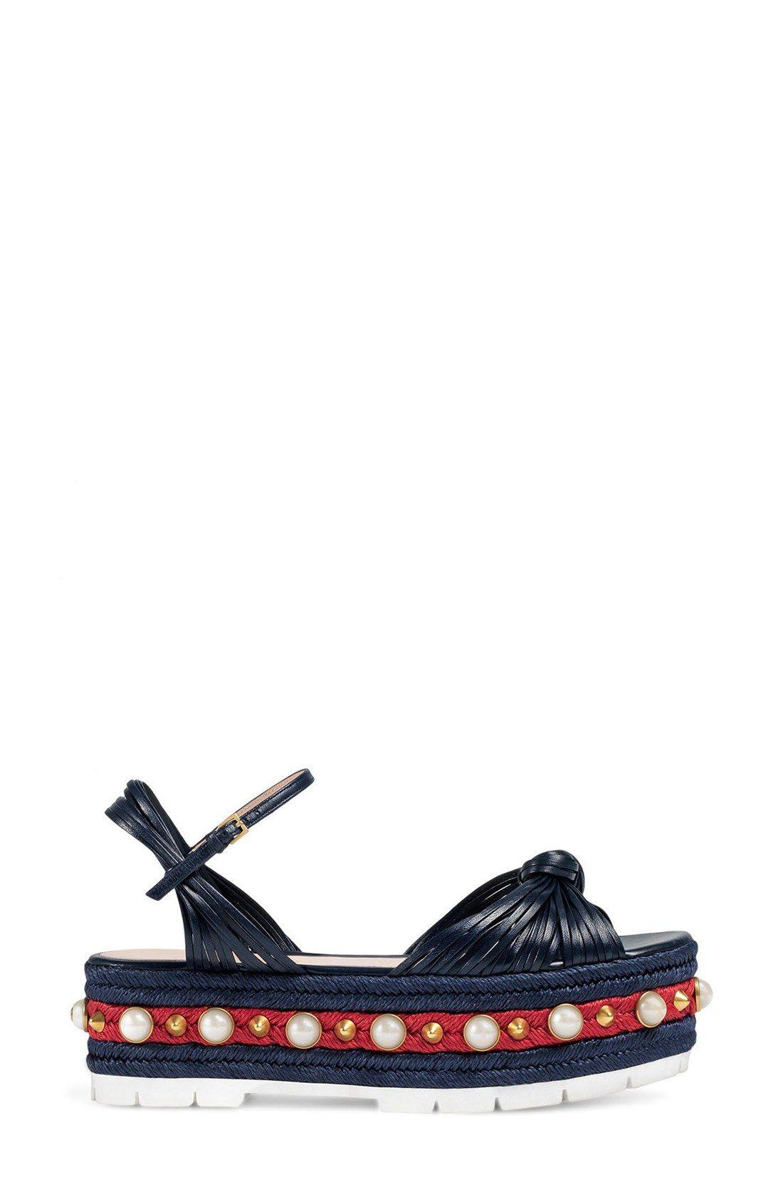 6b109c1243f4 Gucci Barbette Platform Sandal