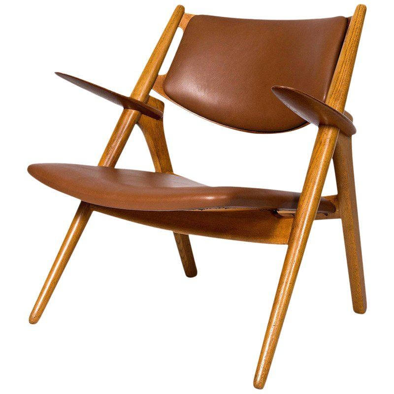 Hans Wegner Ch 28 Lounge Chair In 2020 Lounge Chair