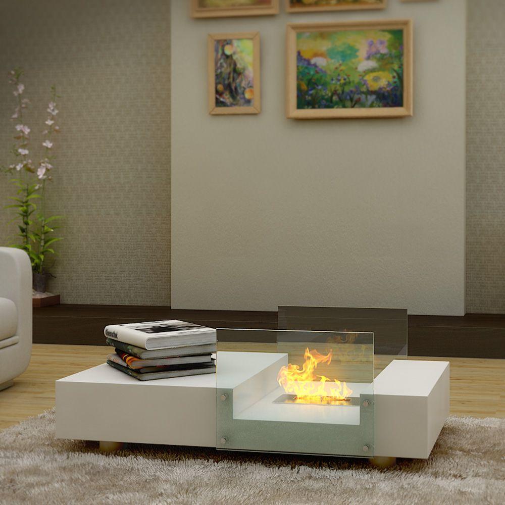 mobile  buy seraphino bio ethanol fireplace coffee table  white  - mobile  buy seraphino bio ethanol fireplace coffee table  white onlineaustralia