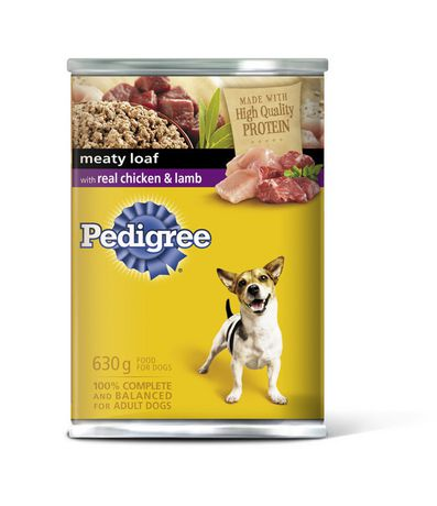 Pedigree Meaty Loaf With Real Chicken Lamb 630g 630g Wet Dog