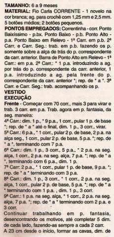 Blog de croche :http://croche.artblog.com.br, VESTIDO COM SANDÁLIA - RECEITA