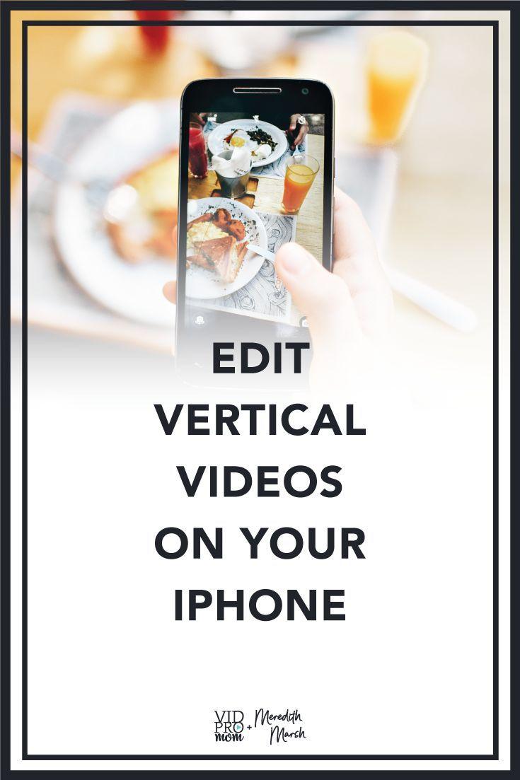 How to Edit Vertical Video LumaFusion Tutorial Video