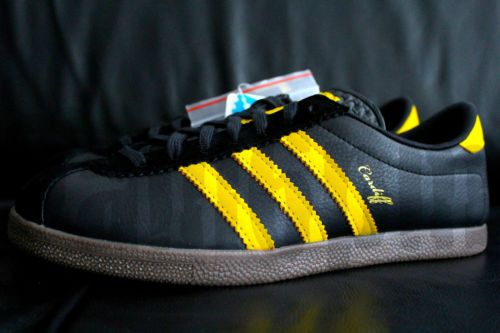 premium selection 8185b aefa6 2010-Adidas-CARDIFF-7-8-BLACK-YELLOW-GUM-1-OF-500-SIZE -CITY-SERIES-blackbird-ds