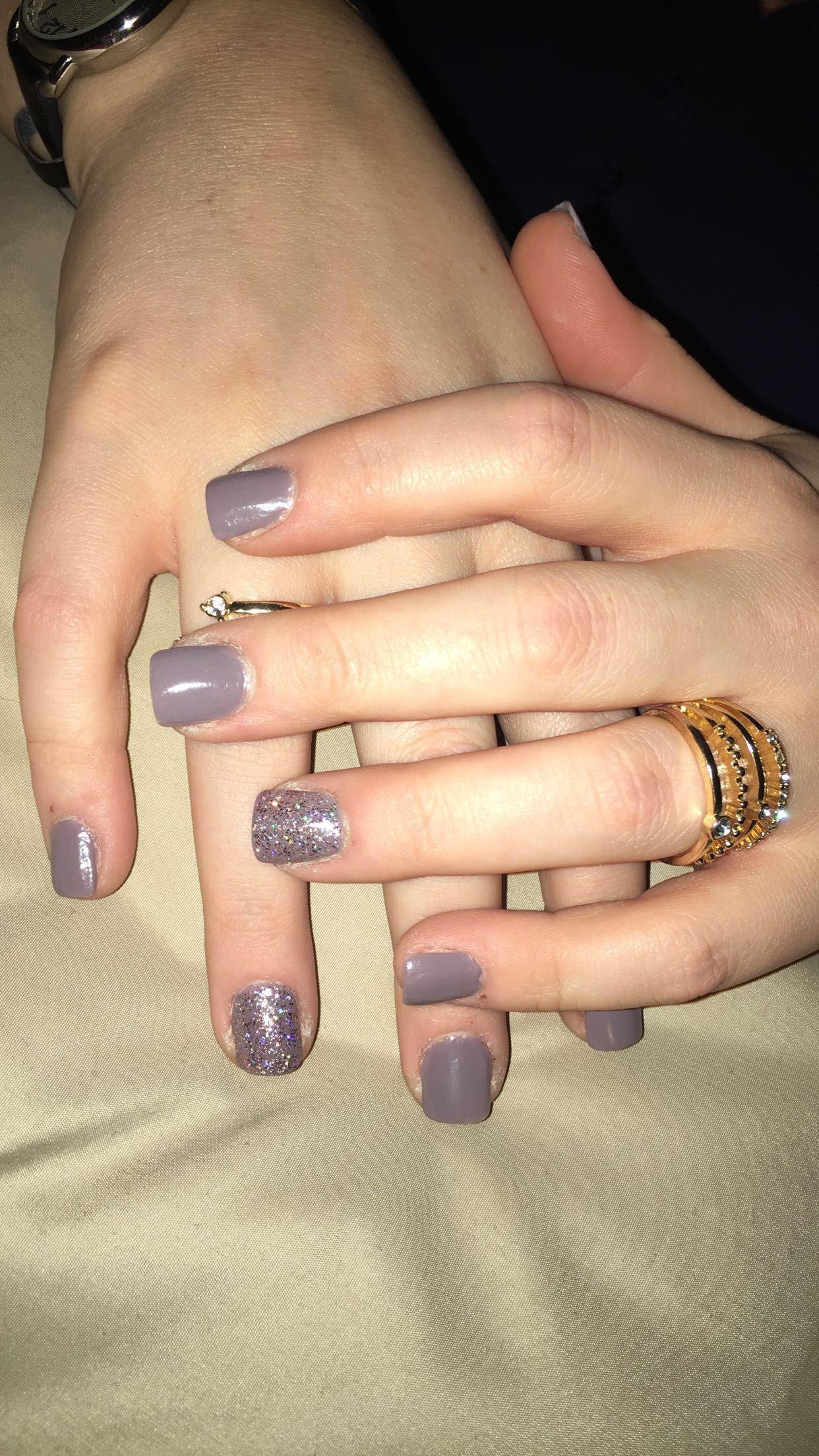 Short square acrylic nails IG:@nails.by.brynn   Nails Ideas ...
