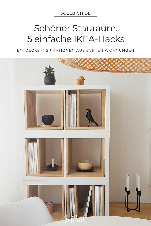 Schöner Stauraum 12 einfache IKEA Hacks für mehr Stauraum in ...