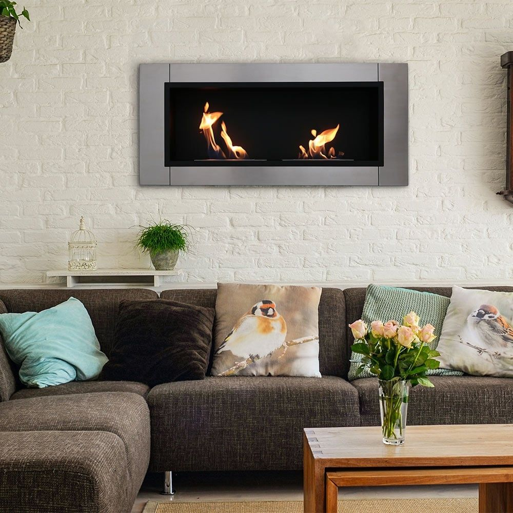 fire electric mounted tools dp room flame wall white living fireplace diy uk amazon flicker heater mdf co