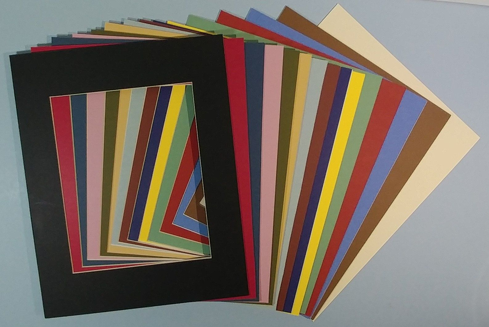 15pc 11x14 Precut Mat Board Assorted Mix Color Variety Artist Etsy In 2020 Color Mixing Artwork Display Craft Supplies