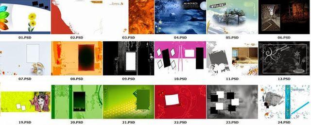 25 Wedding Album Templates Psd Files | StudioPk | Pinterest | Album ...