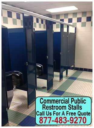 Commercial Public Restroom Stalls For Sale Repair Installation - Commercial bathroom toilets