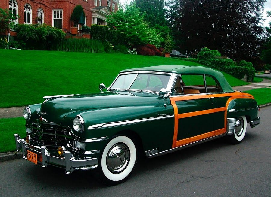 A Classic 1949 Chrysler Town Country Convertible Classic