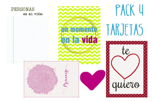 Tarjetas para Project Life en español III   Gala Scrap