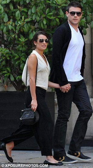 Lea michele and cory monteith dating in real life