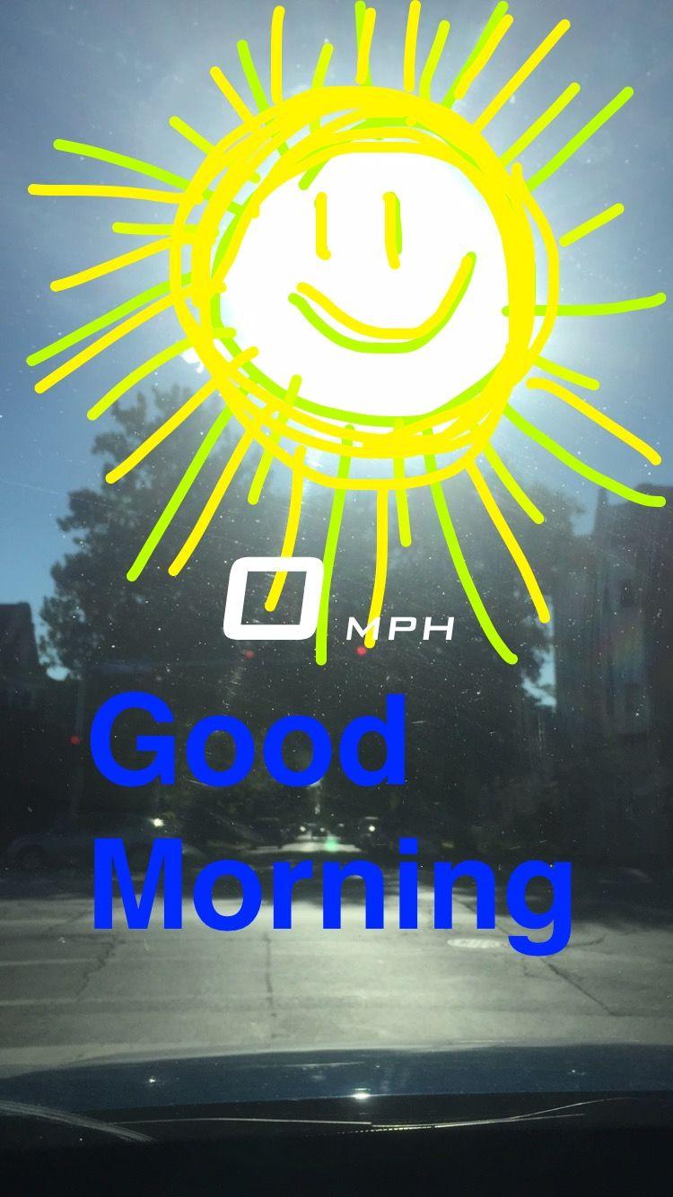 Good morning Chicago Illinois Snapchat Neon signs