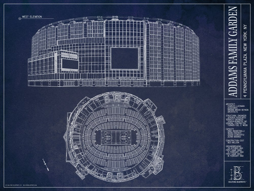 1874cdcd773f93bc2b3f50b92c4580f3 - Capacity Of Madison Square Gardens New York