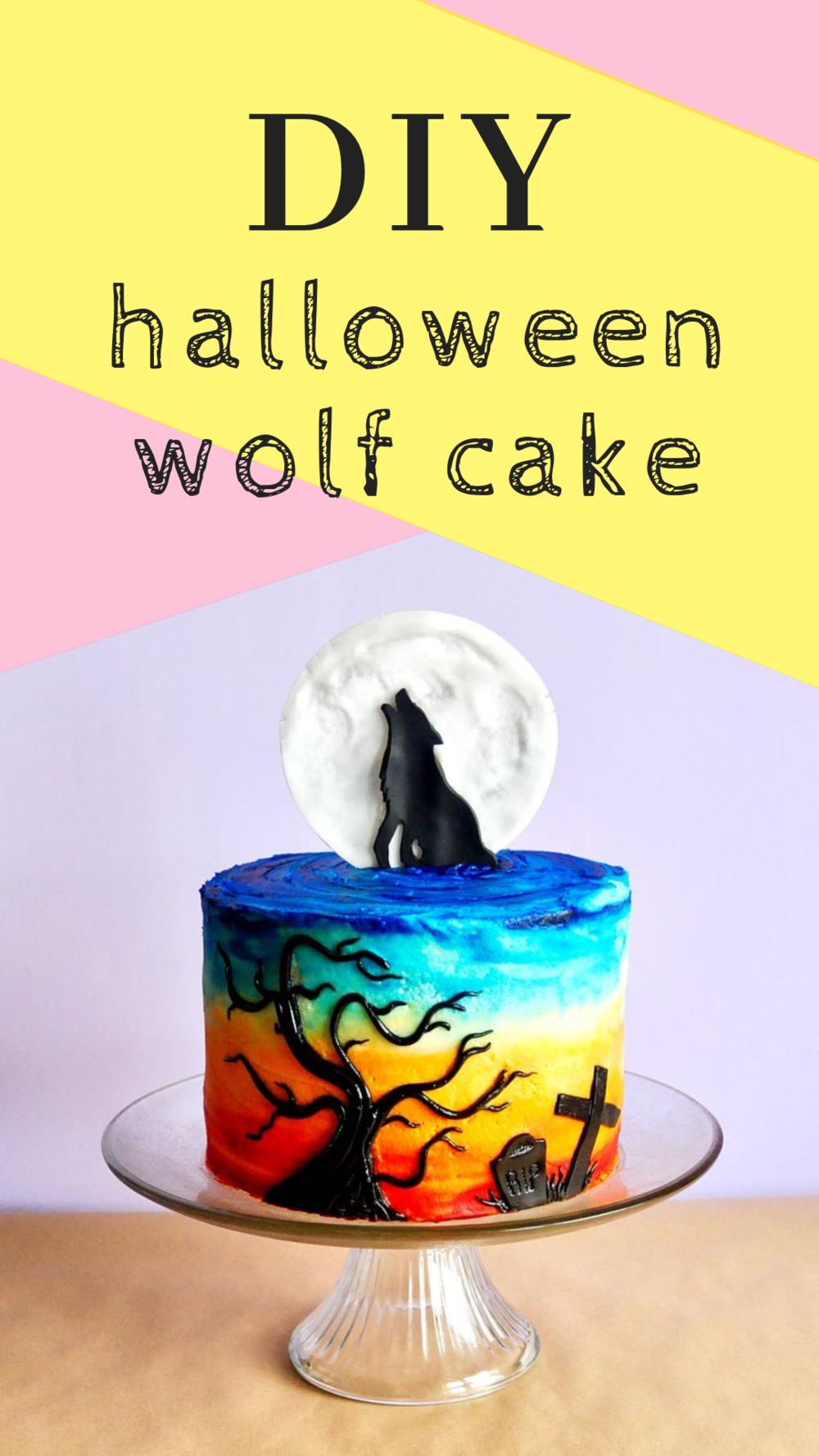 Wolf Birthday cake – Etoile Bakery  Howling Wolf Animal Jam Cake