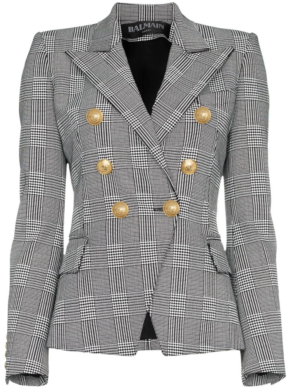 abe7eedc2c30 Balmain двубортный твидовый пиджак   Fashion   Твидовый пиджак и Пиджак