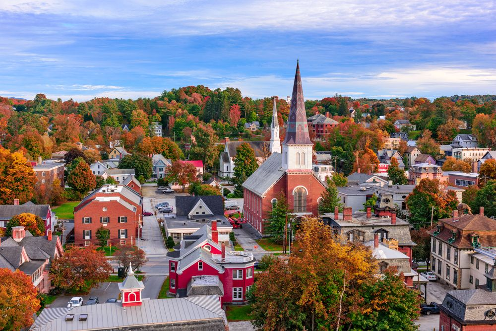 15 Best Places To Live In Vermont Small Town America Best