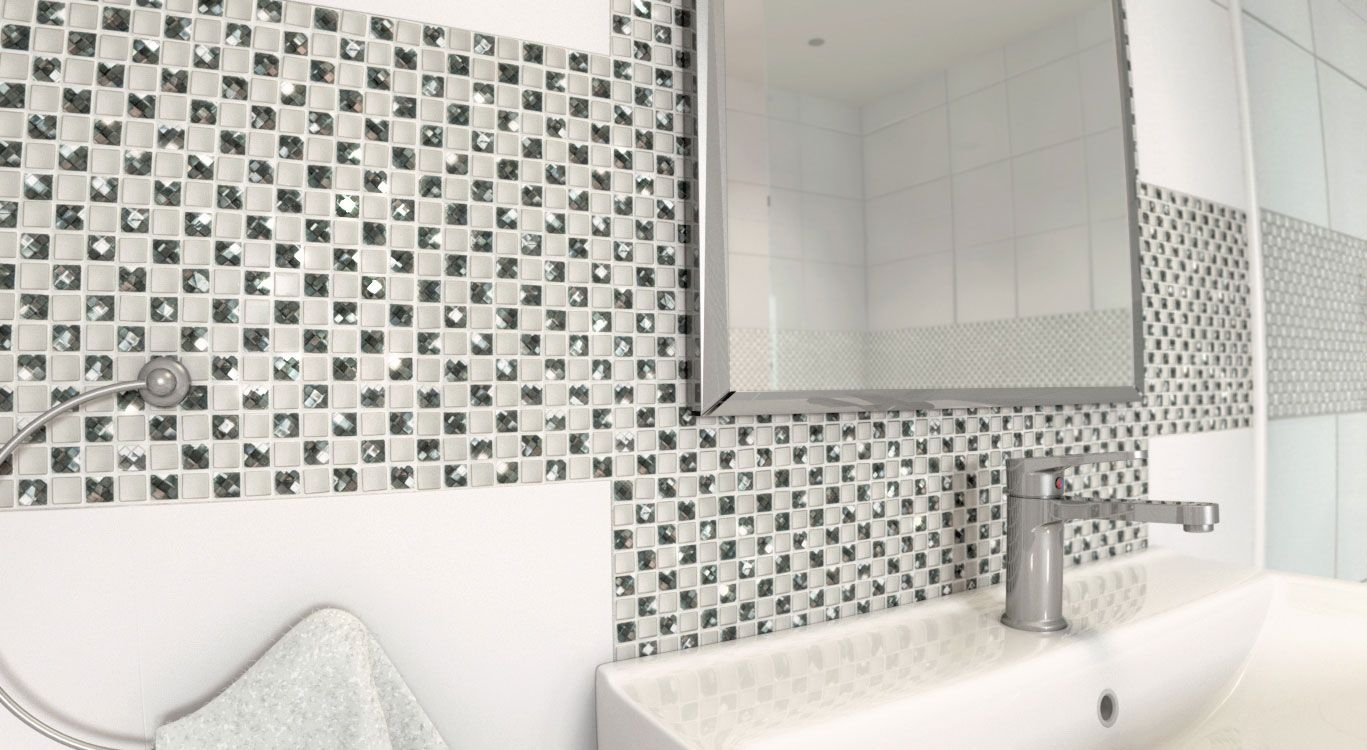 Modern Decorative Mosaic Jewel Manhattan Star Mosaic Tiles Uk Mosaic Wall Tiles Bathroom Feature Wall