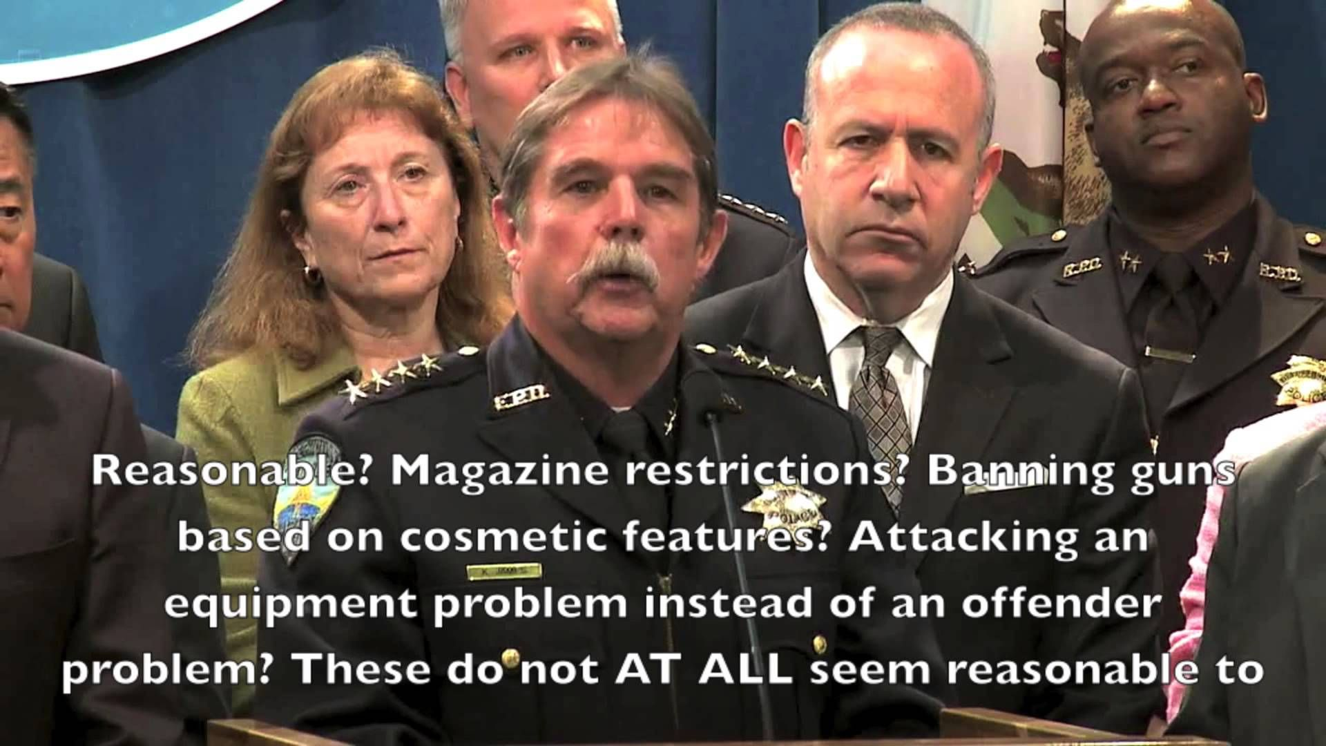 Guns No Defensive Use this moron is a police chief