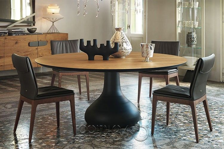 bora bora round dining table tosca chairs and nebraska buffet by rh pinterest com