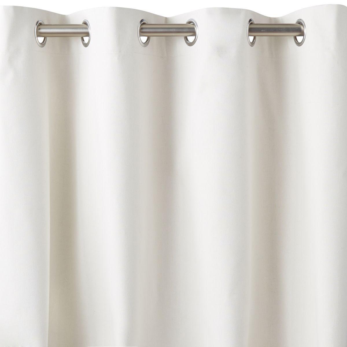 rideau m tis lin coton occultant ta ma la redoute interieurs rideaux. Black Bedroom Furniture Sets. Home Design Ideas