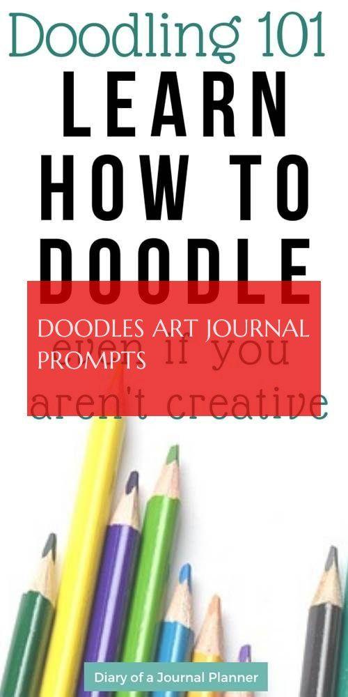 Doodles Art Journal Prompts Doodles Kunstjournal Fordert