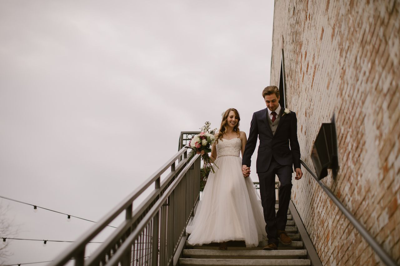 Brik venue fort worth texas wedding industrial historic