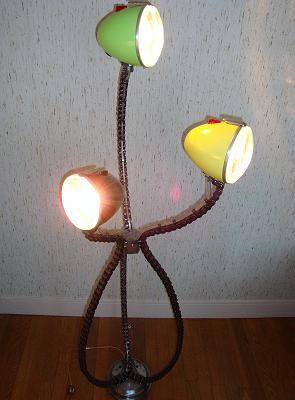 Citroen 2cv Lights Into Desk Lamp Avec Images 2cv Idees Pour