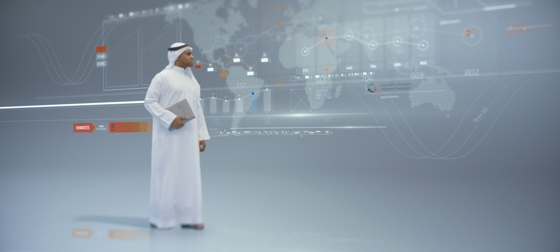 "Check out this Behance project ""Emirates Transport"