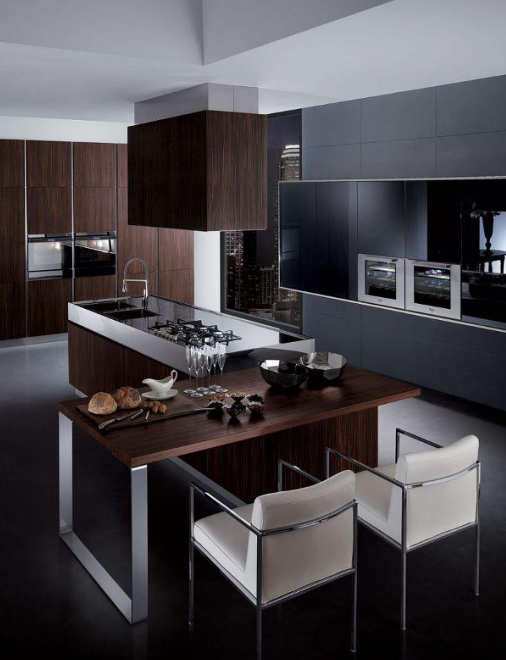 Contemporary Kitchen Interior Design: 50+ Modern Decorated Kitchen Design Ideas (With Images
