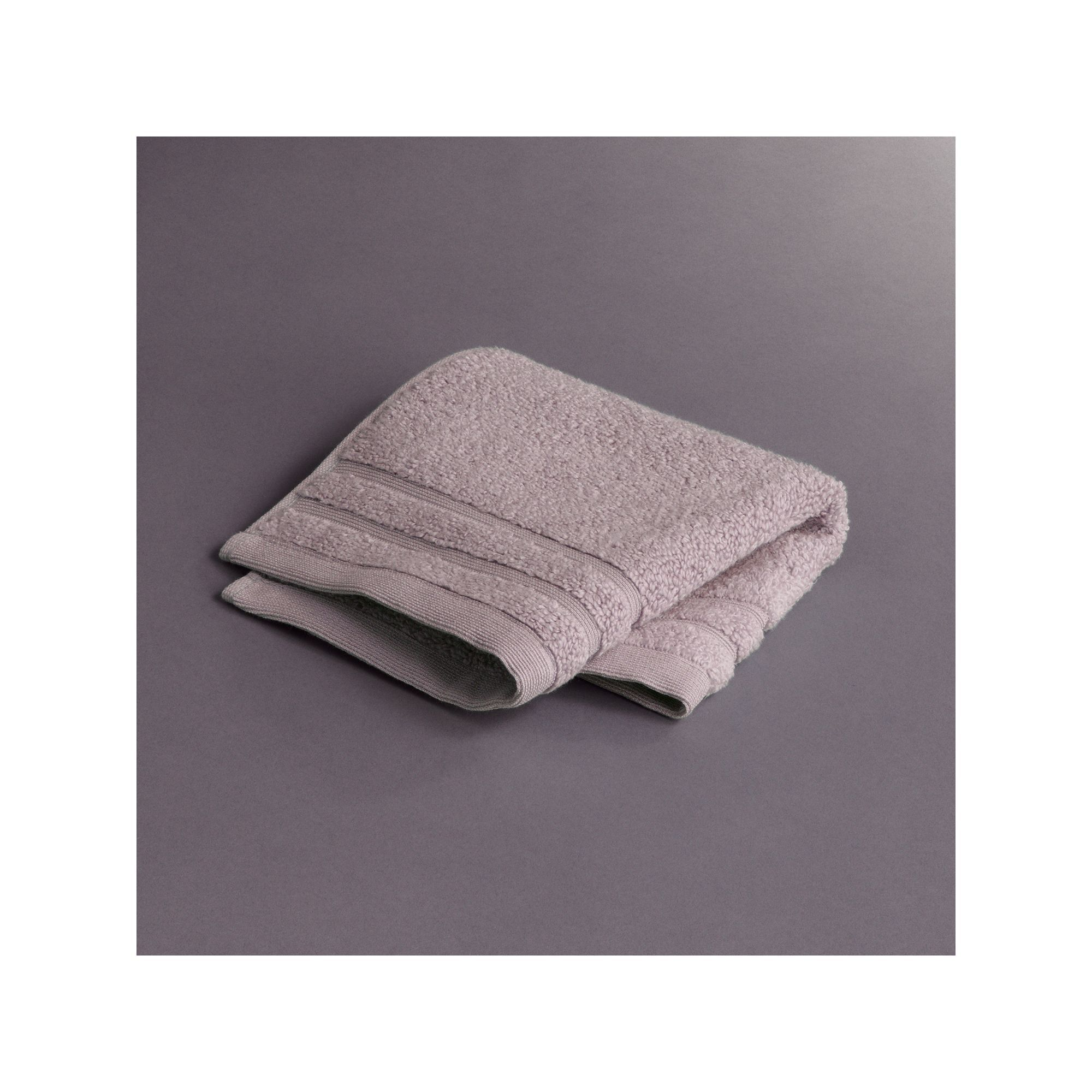 Simply Vera Vera Wang Pure Luxury Washcloth, Lt Purple