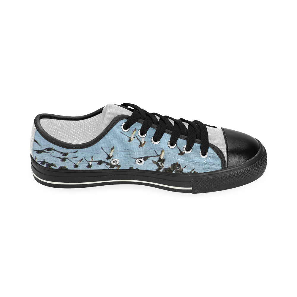 Flock Off Women's Classic Canvas Shoes (Model 018)