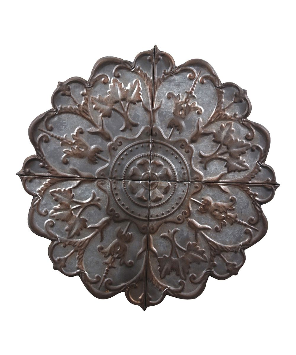 Embossed rosette wall art daily deals for moms babies and kids