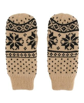 Fair Isle Knit Mittens | FOREVER21 - 2000021601 | Wardrobe ...