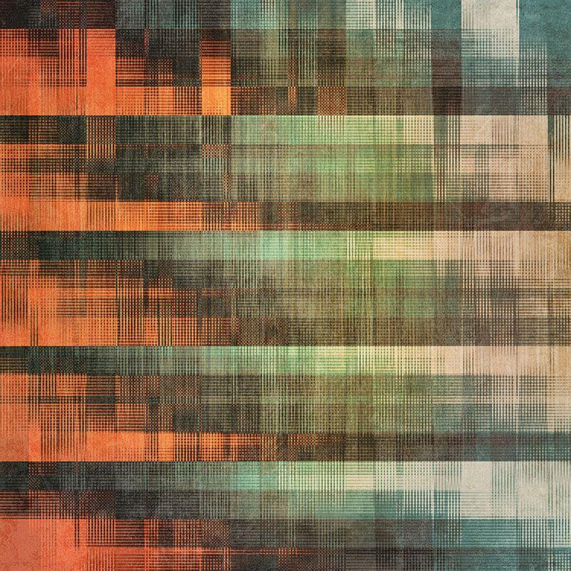Exterior Walldesign Ideas: #fabric #pattern #grunge #colortransitions #brick Green