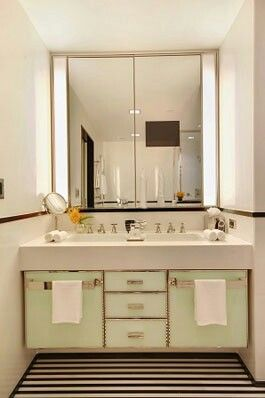 Modern art deco bathroom
