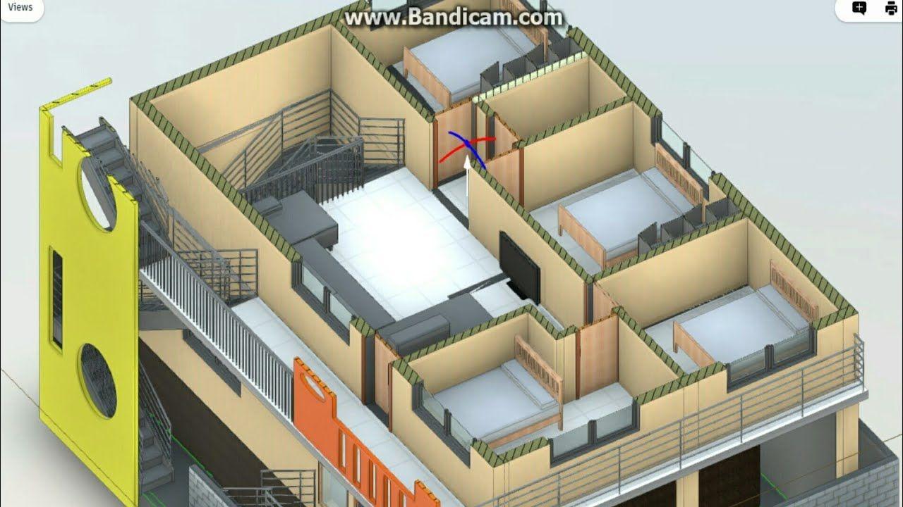 30x40 Duplex House Plan North Face Vastu 2 Cars Parking 4