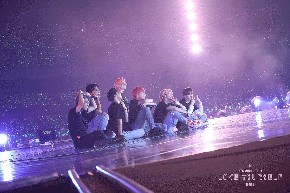 Bts World Tour Love Yourself In Seoul Fathom Events Bts World Tour Bts Concert Bts Wallpaper Desktop Bts live wallpaper pc