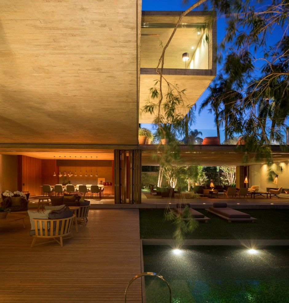 Open layout house concept by studio mk27 - Cp_150414_10 Contemporist Casa P By Studio Mk27 Open Layoutarchitecture