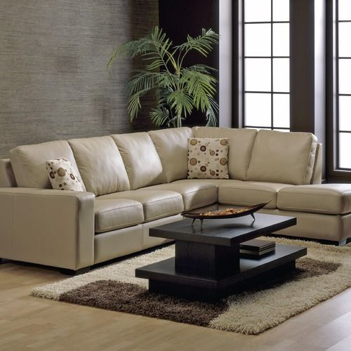 Palliser Furniture Andreo Leather Sectional Sofa Wayfair