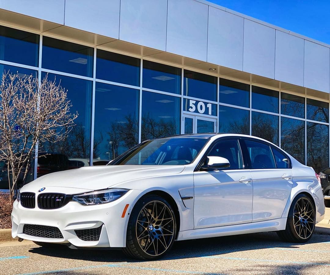 2018 BMW M3 W/competition Package Lookin Fresh In White