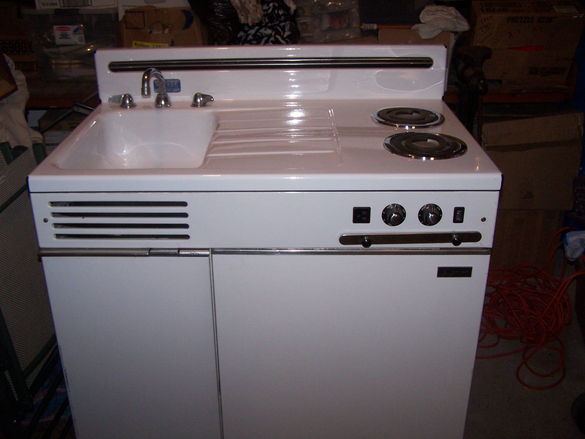 Awesome All In One Kitchen Units | Have A Dwyer All In One Kitchen Unit Circa 1950