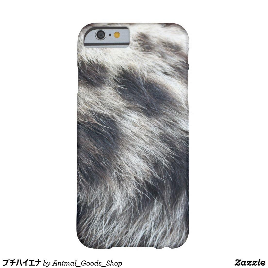 ブチハイエナ iPhone 6 ベアリーゼアケース