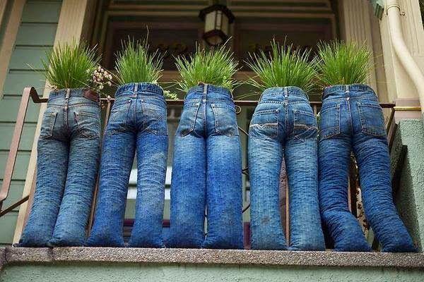 Diez Cosas que Puedes Hacer con tus Jeans Viejos, ¡No los tires!                                                                                                                                                                                 Más