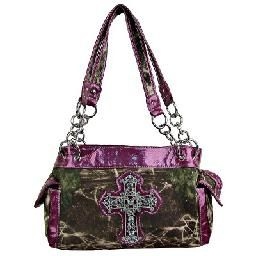 Purple Camo Cross Purse Only 36 Country Style