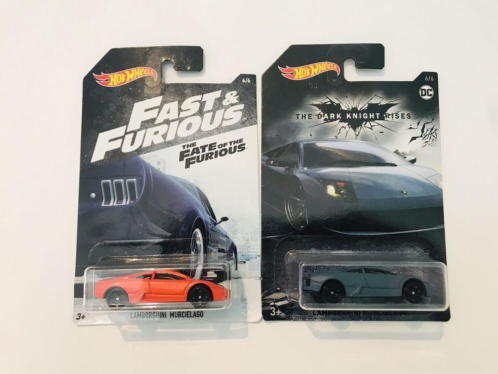 2018 Hot Wheels Lamborghini Murcielago Fast Furious And Batman The