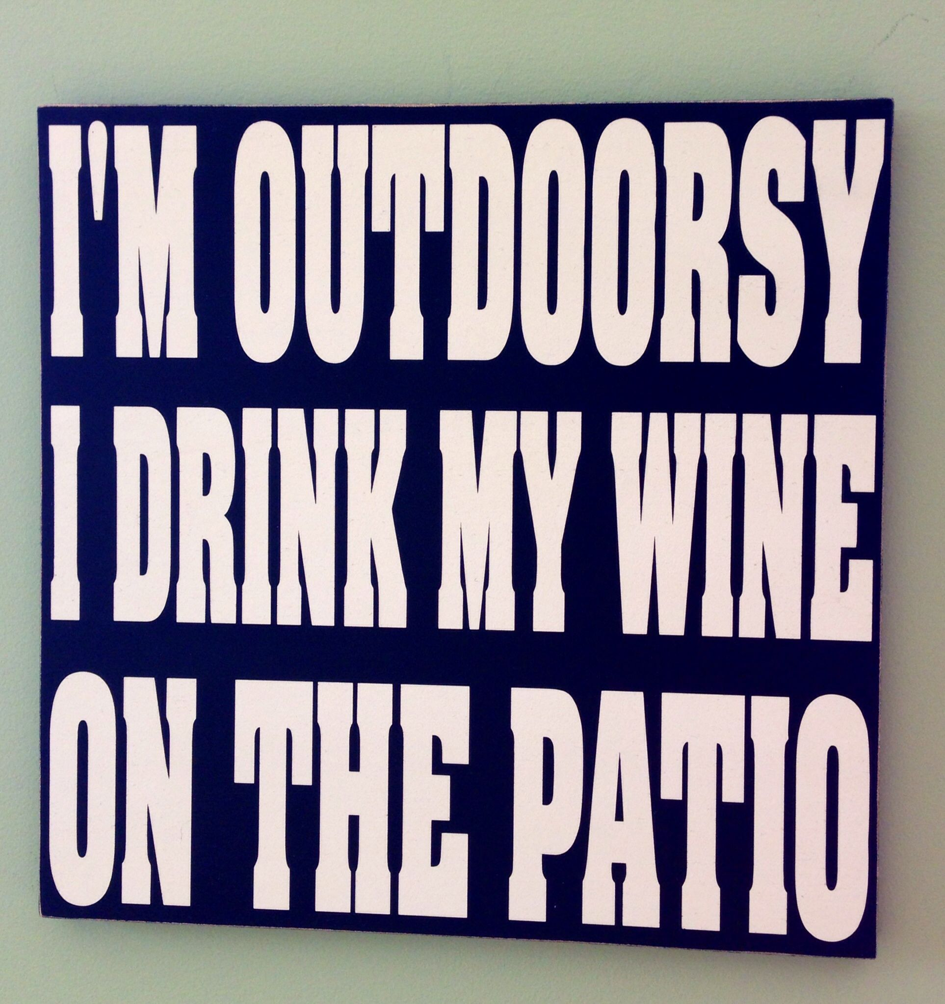 We Can Drink Our Wine On The Patio At Www Portgardnerbaywinery Com